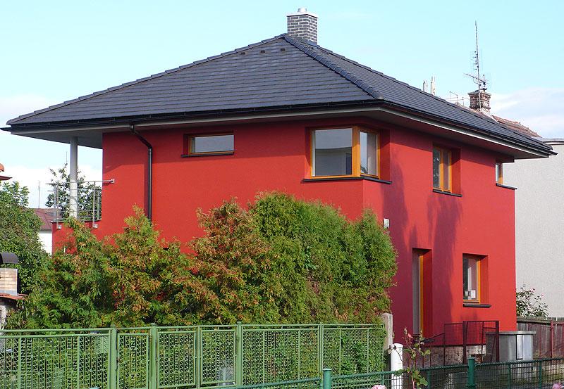 Rekonstrukce rodinného domu v Mladé Boleslavi